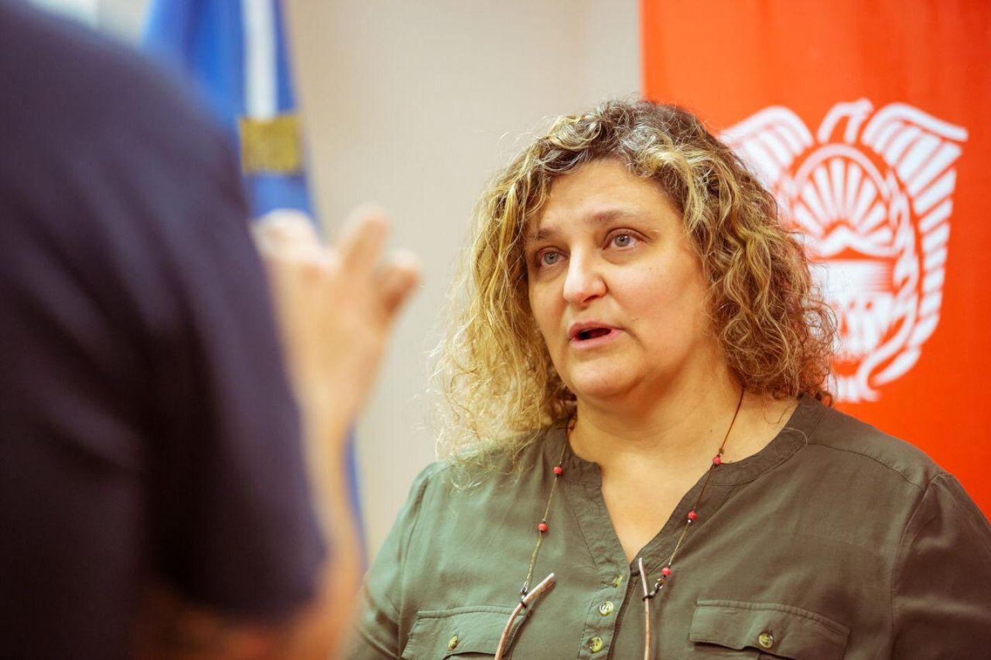 Ministra de la Producción y Ambiente de la provincia de Tierra del Fuego, Sonia Castiglione