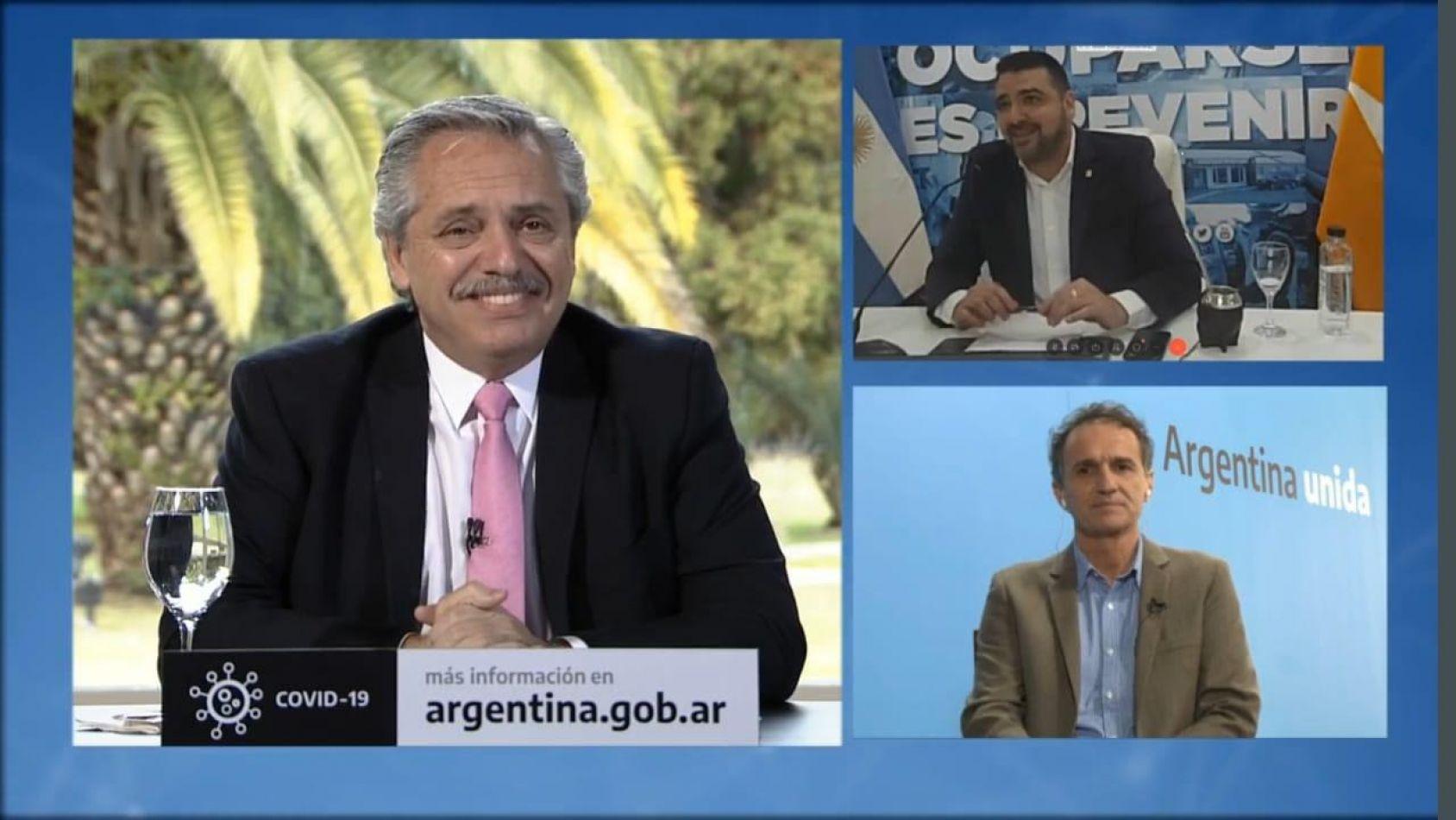 El Presidente Alberto Fernández presentó por videoconferencia el plan de obras para seis provincias del sur por $2.200 millones.