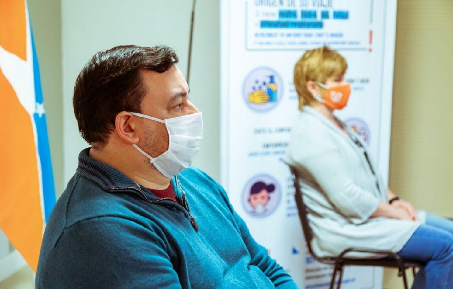 Javier Barrios, secretario de Gestión de Sistemas Sanitarios.