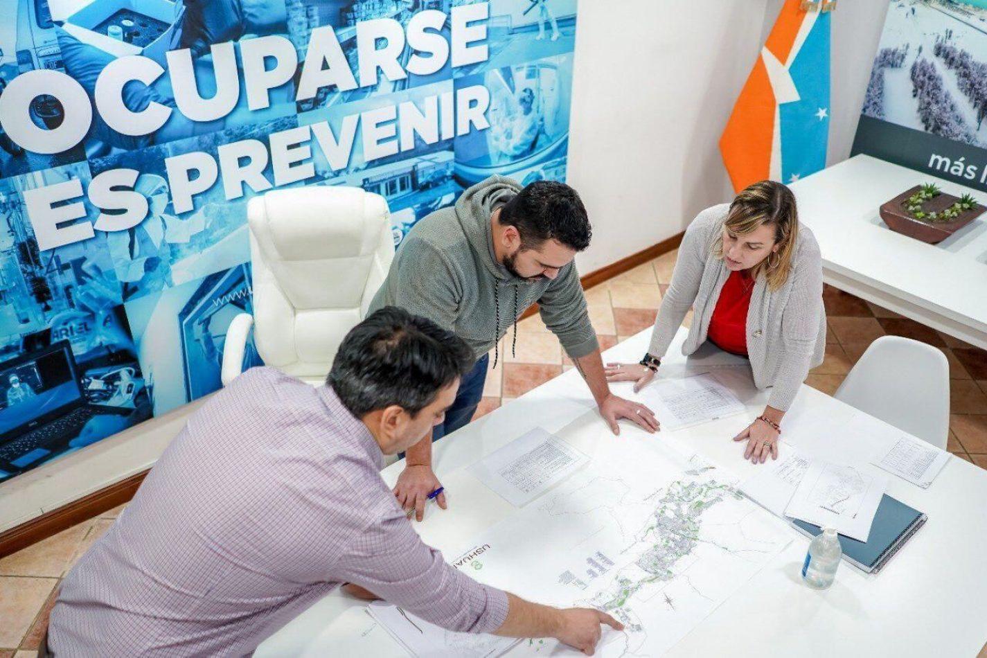 Ushuaia retomará el plan de obras en Octubre