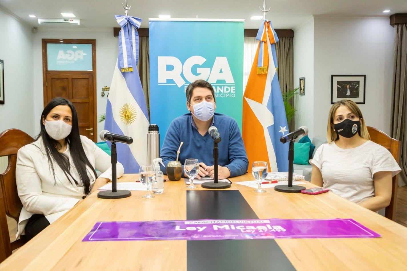 Ley Micaela: Explicaron su implementación en Río Grande
