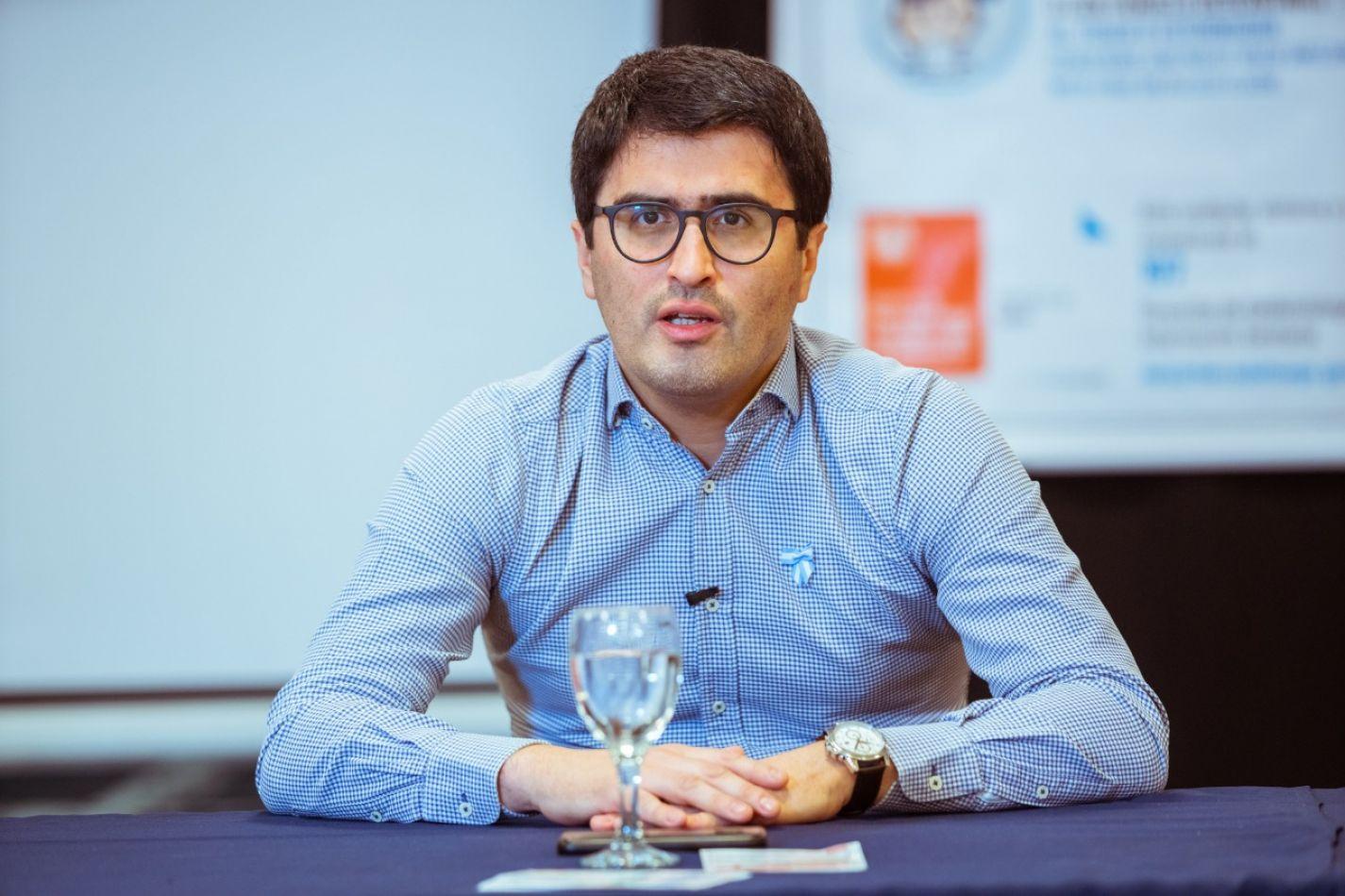 Director Ejecutivo de la Agencia de Recaudación Fueguina (AREF), Oscar Bahamonde.