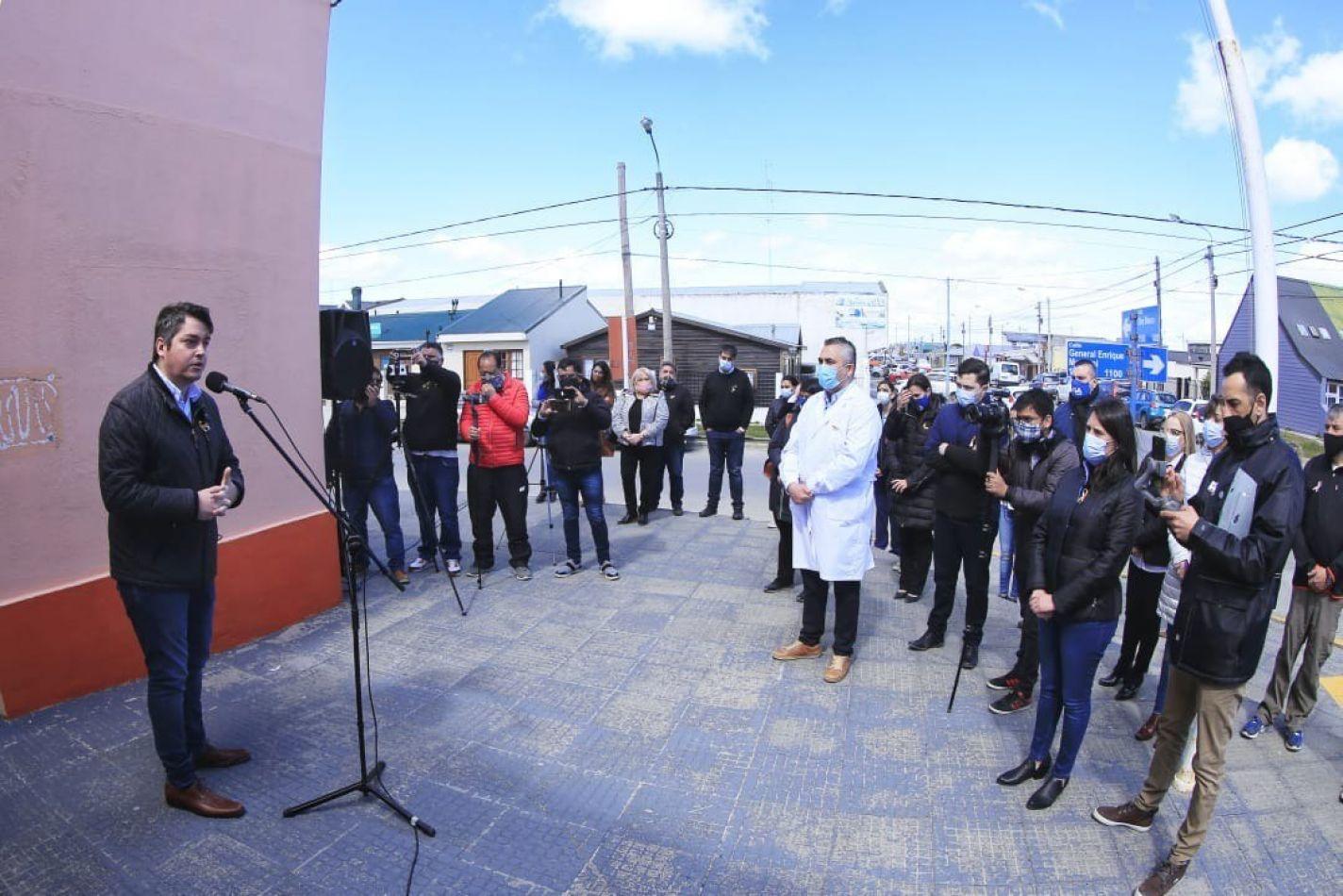Martín Pérez anunció la creación del Centro Municipal de las Infancias