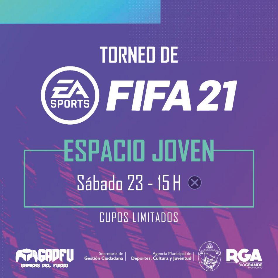 """Este sábado se realizará el gran torneo de verano """"FIFA21"""""""
