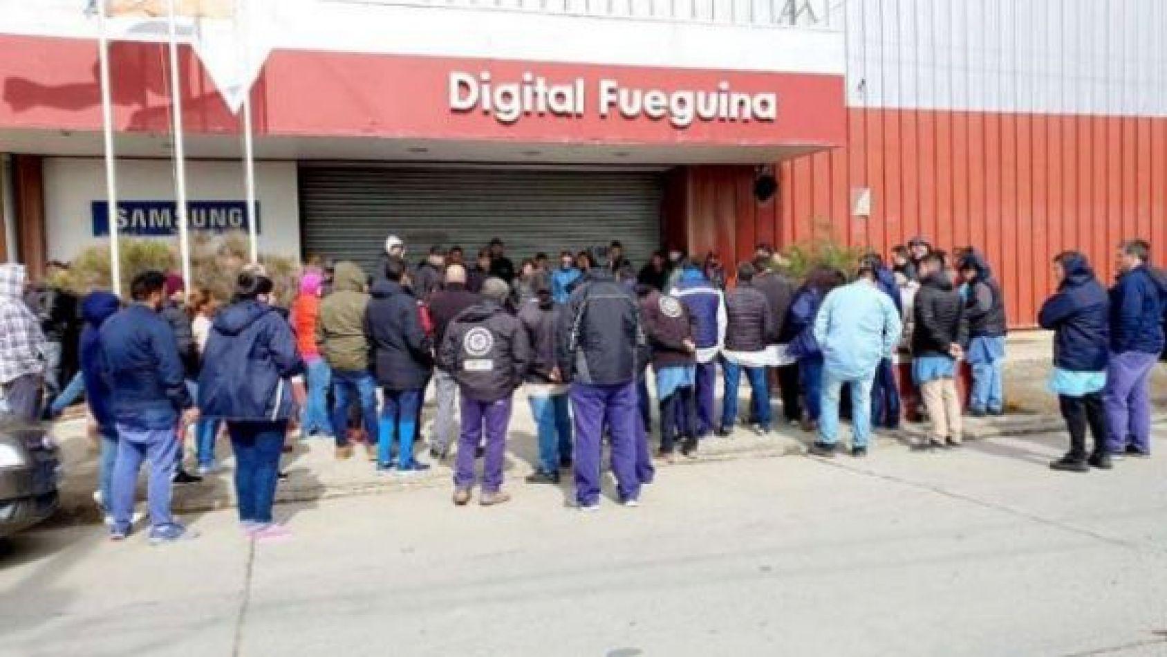 Momentos de tensión se viven en Digital Fueguina.