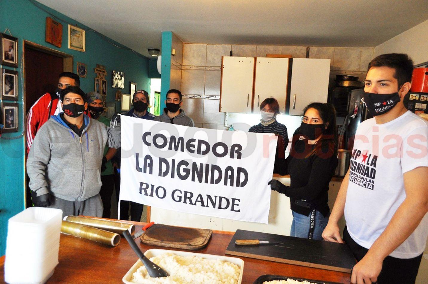 """EL comedor """"La Dignidad"""", pide la solidaridad de los vecinos para continuar asistiendo y para contar con un espacio propio."""