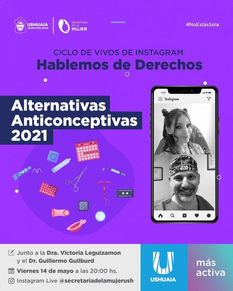 """Se realizará una charla virtual sobre """"Alternativas anticonceptivas 2021"""""""