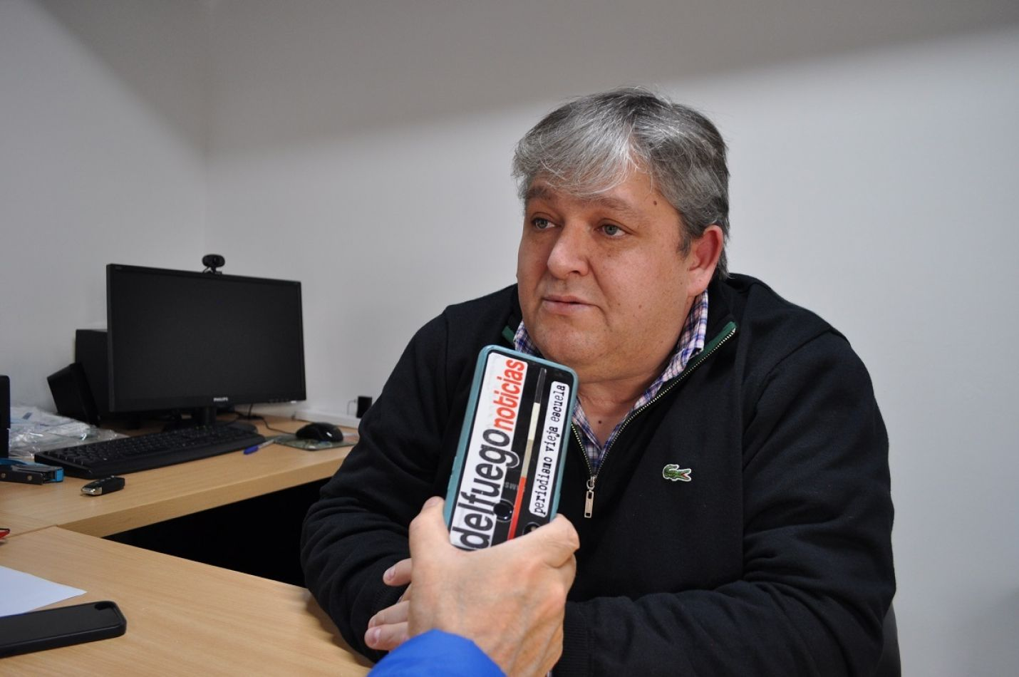 Santiago Barrientos, presidente del Consejo de Administración de la Cooperativa Eléctrica.