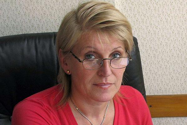 Diputada por Partido Social Patagónico, Nélida Belous.