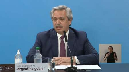 El presidente pidió cuidados y confirmo la continuidad del IFE
