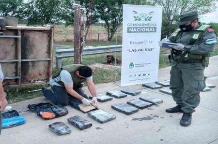 """Viajaba a Tierra del Fuego con 45 kilogramos de marihuana ocultos en una """"mudanza"""""""