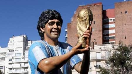 Maradona tendrá su estatua en el Aeropuerto de Ezeiza