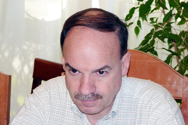 Pablo Blanco, esperanzado con el resultado de la UCR para octubre.
