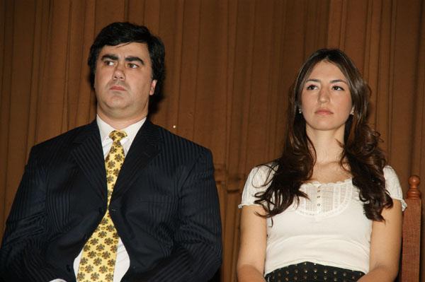 Alejandro Nogar y Laura Colazo no asistieron a las reuniones por el Presupuesto 2012.