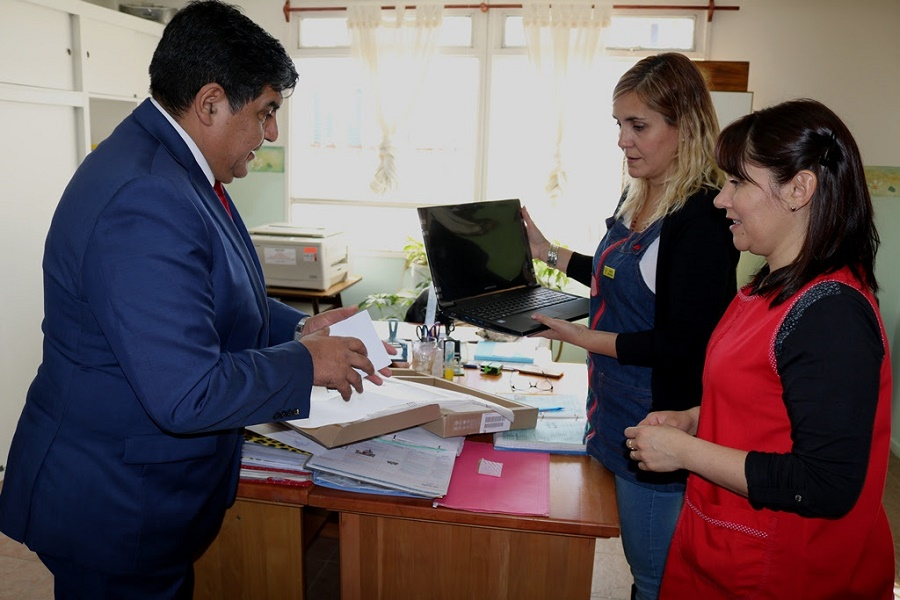 Arcando realizó donación al jardín Nº 9 Tutú Marambá