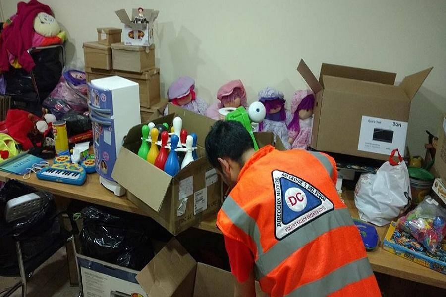 """Campaña """"Día del Niño"""": Voluntarios de Defensa Civil repartirán juguetes"""
