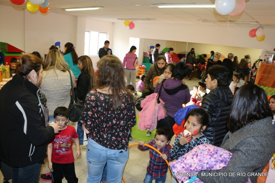 """Jornada especial en el Centro """"Mamá Margarita"""" por el Día del Niño"""