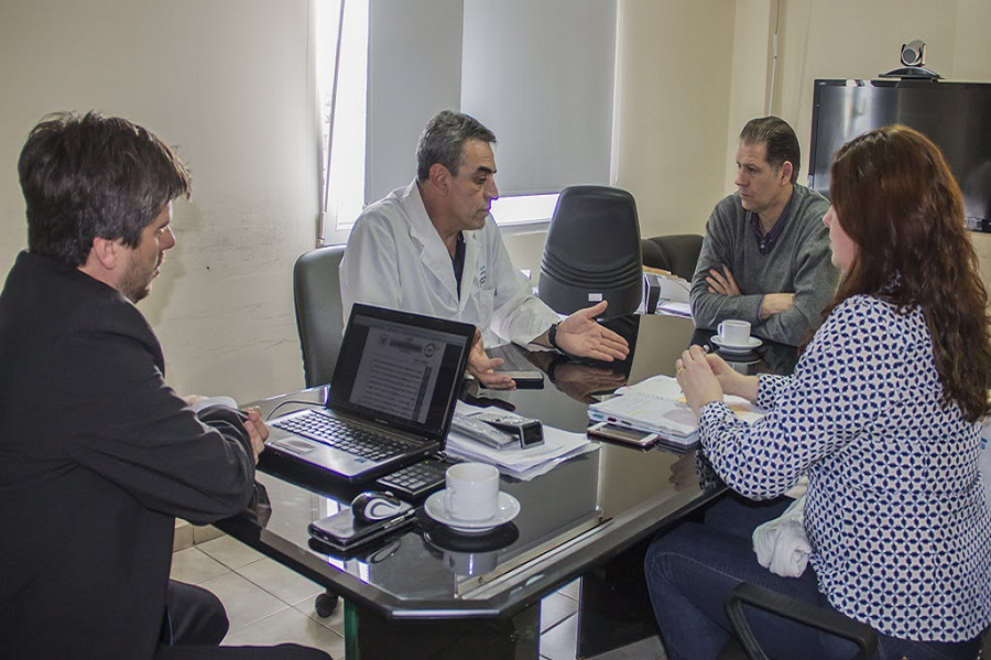 Primera reunión de los miembros del Directorio del Laboratorio del Fin del Mundo