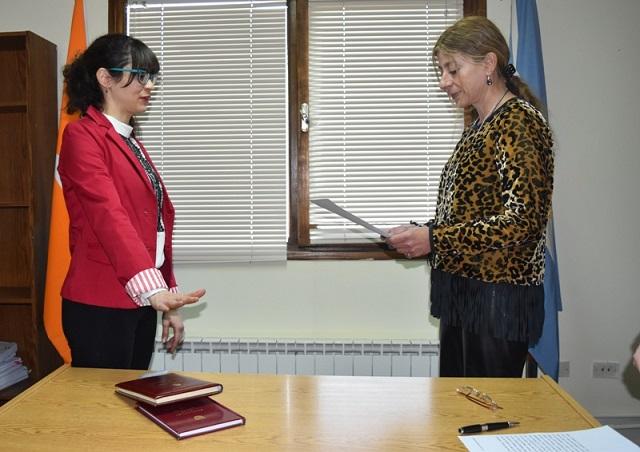 Nueva Prosecretaria interina en el Juzgado Correccional de Ushuaia