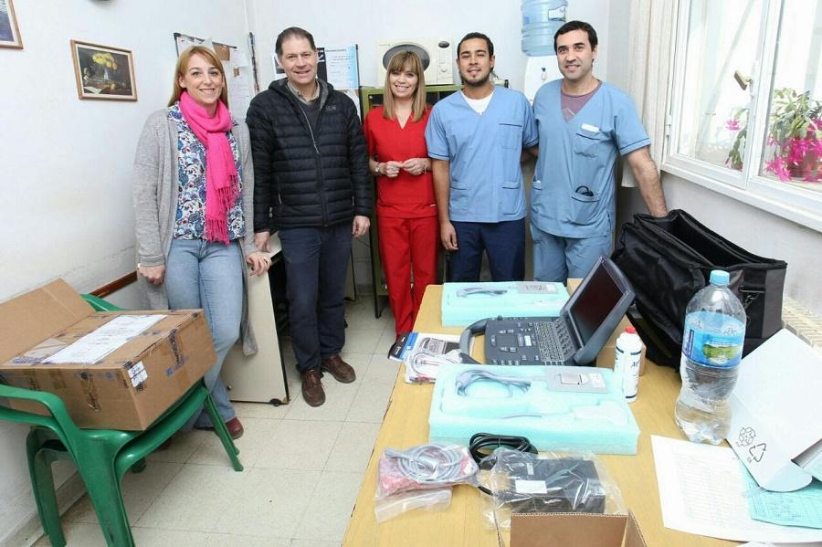 El Ministerio de Salud entregó nuevo equipamiento al Hospital Regional de Ushuaia