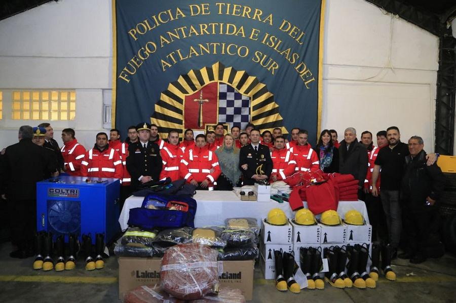 55º Aniversario de la División Bomberos Río Grande de la Policía provincial
