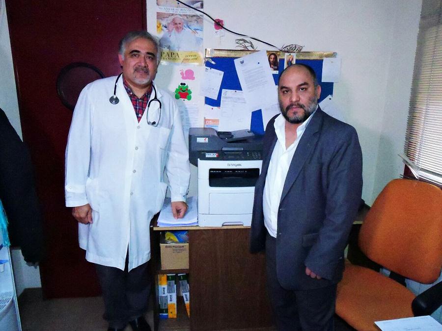 Avances en las obras del área de hemodiálisis del Hospital de Río Grande