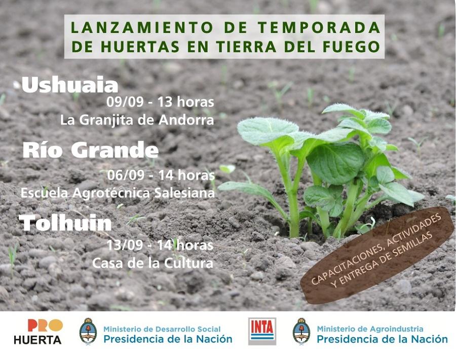 Pro Huerta INTA: Con la distribución de semillas comienza la temporada de huertas