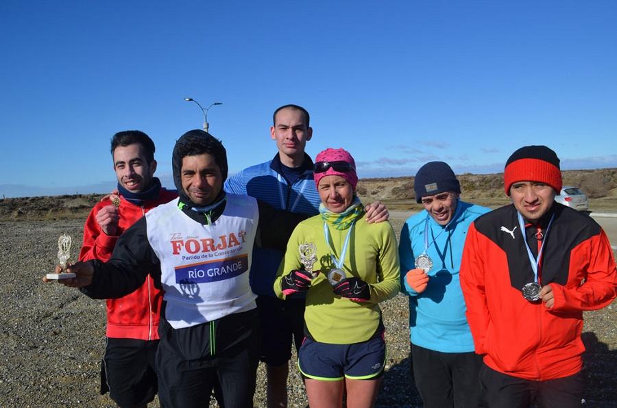 Soraire y Cárcamo, en los 15 kilómetros