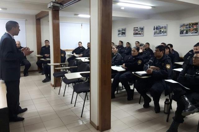 Integrantes de Comisarías recibieron capacitación sobre Flagrancia