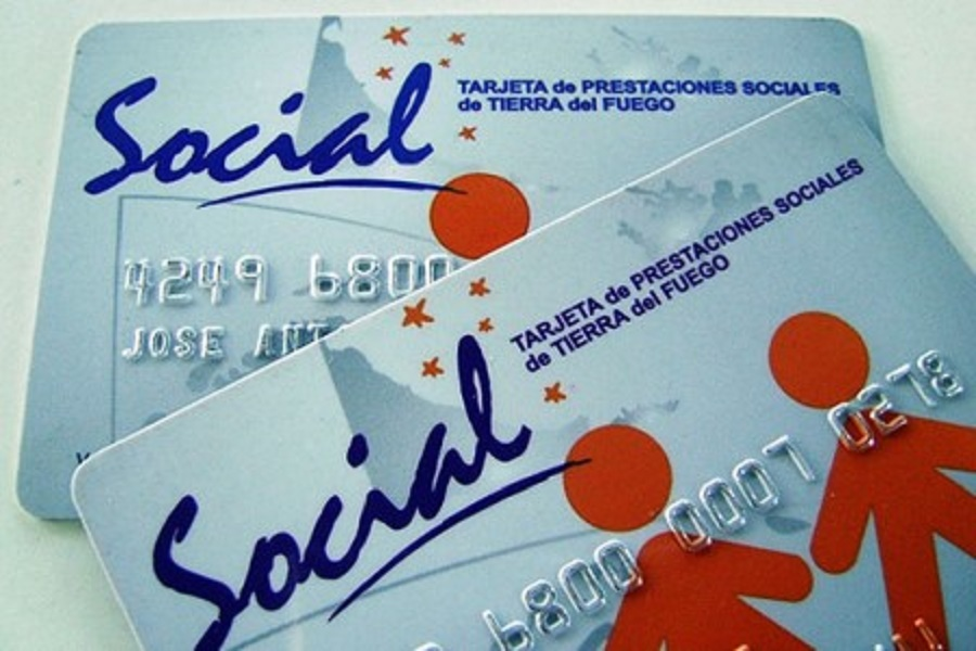 Tarjeta de Prestación Social habilitada
