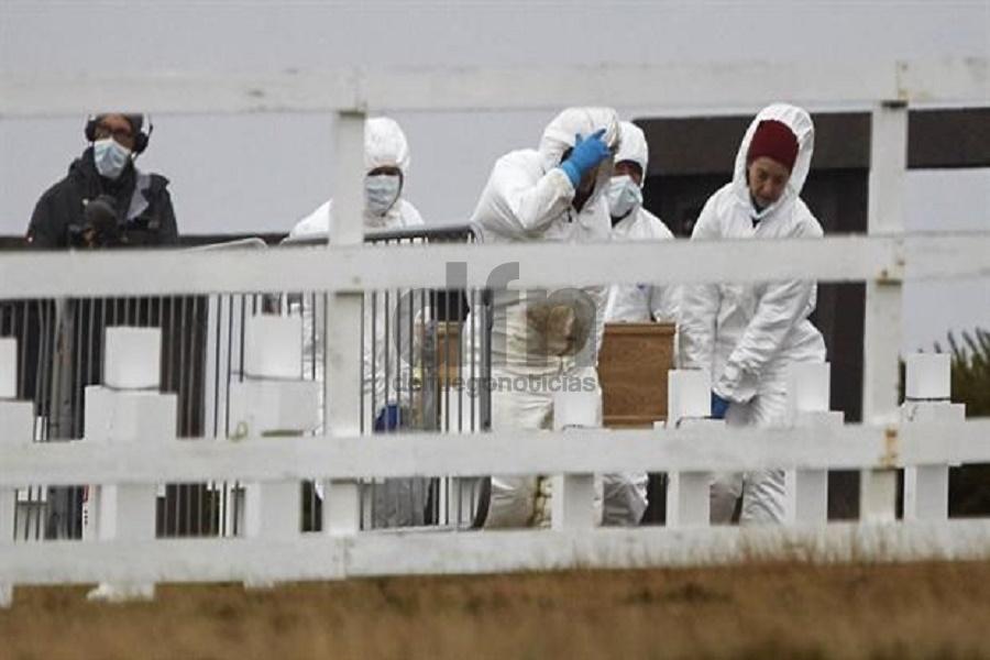 La Cruz Roja identificó 121 cuerpos en el cementerio de las Malvinas