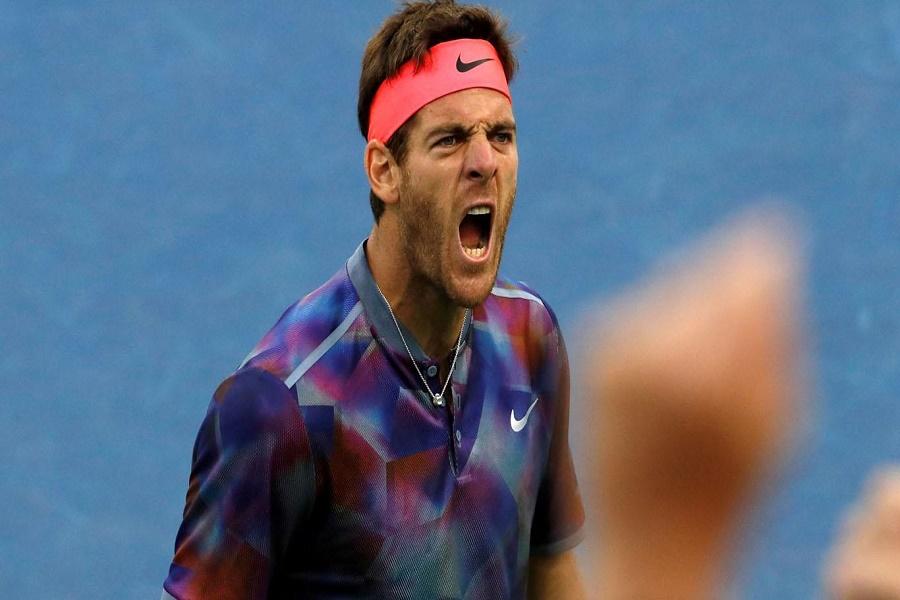 Histórico: Juan Martín Del Potro le ganó a Roger Federer y avanza a semifinales