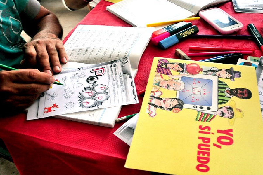 """Programa de alfabetización """"Yo si Puedo"""" ya cuenta con 42 estudiantes"""