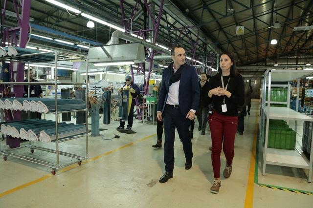 Caballero destacó la recuperación de la industria de Tierra del Fuego