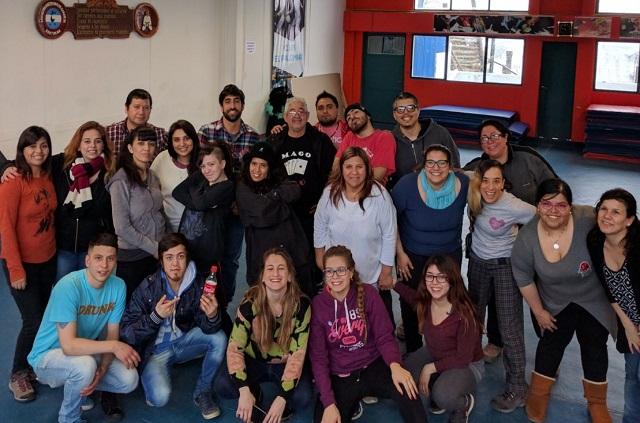 Los CEPLAS de Río Grande participaron en Ushuaia de capacitación de Sedronar