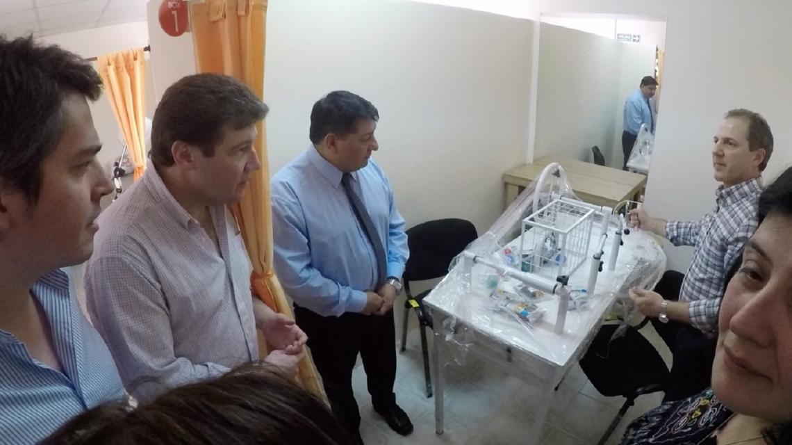 Presentaron el nuevo equipamiento para el Centro Mamá Margarita