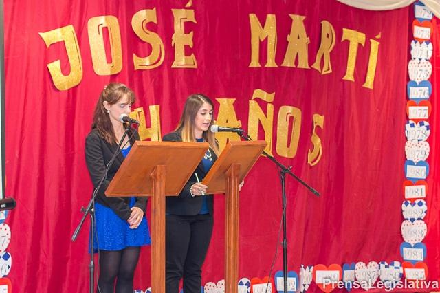 Ushuaia: El colegio provincial José Martí festejó 64 años de vida