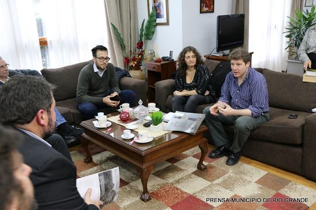 Causa por Estaqueos: Melella recibió a Excombatientes de La Plata
