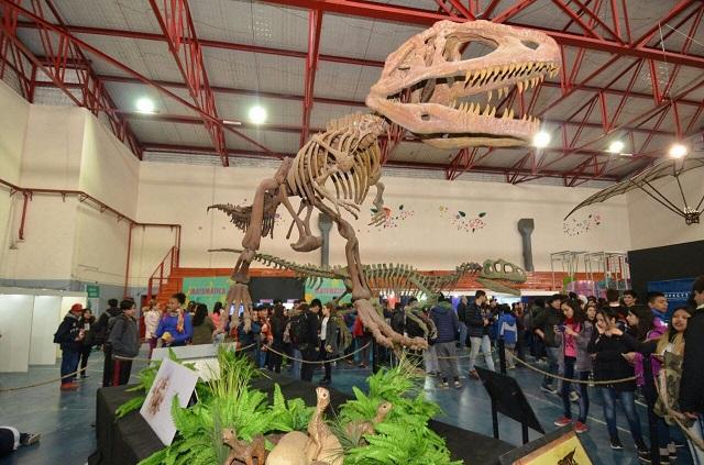 """Gimnasio de la Esc. 2: Se inauguró la muestra """"Ciencia en Movimiento"""""""