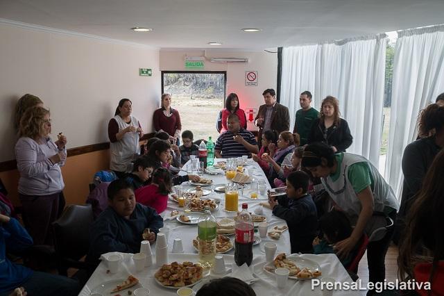 Estudiantes de Tolhuin recorrieron la Legislatura provincial