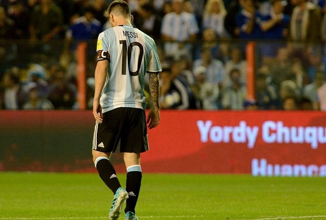 Eliminatorias 2018: De local, Argentina no pudo contra Perú