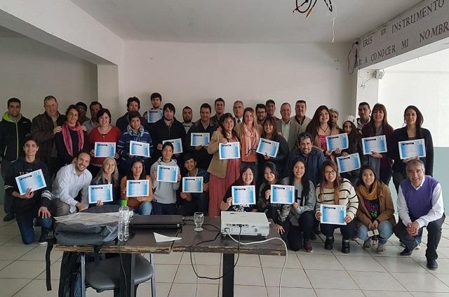 Aniversario de Ushuaia: El taller de oratoria también se dictó en la ciudad capital