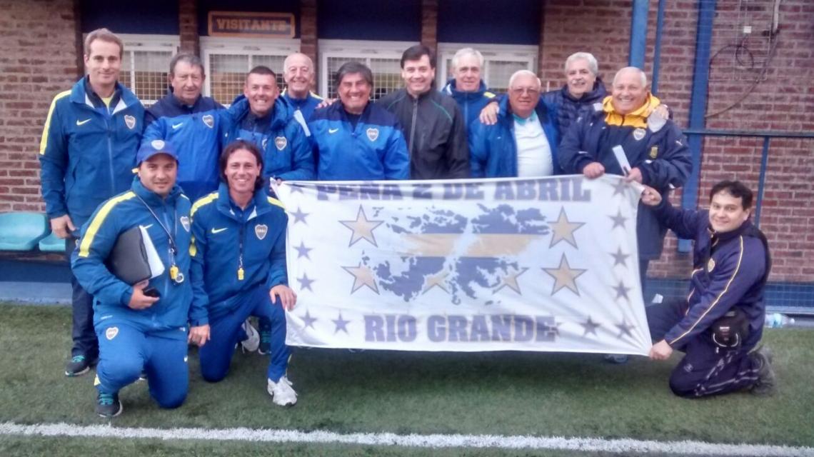 El Club Boca Juniors realizará un prueba de juveniles en Ushuaia