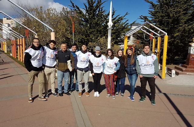 Integrantes del Rotary Club Río Grande, comprometidos con la concientización y prevención del Cáncer