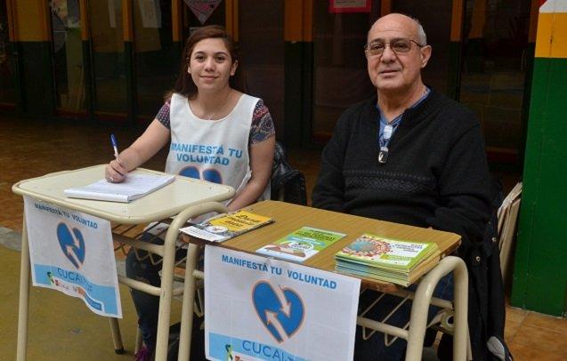 En las PASO hubo mesas de inscripción para donar órganos
