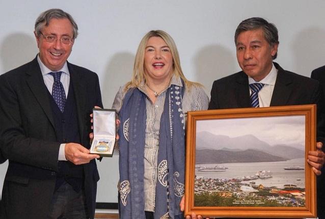 El Puerto de Ushuaia fue incorporado al Nodo Argentino junto a Buenos Aires y Madryn