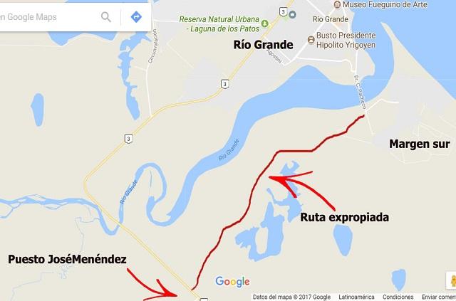 Expropiaron la vieja ruta 3 para concretar el acceso alternativo a la margen sur