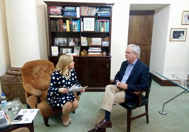 Arancel cero: Miriam Boyadjian se reunió con el senador Pinedo