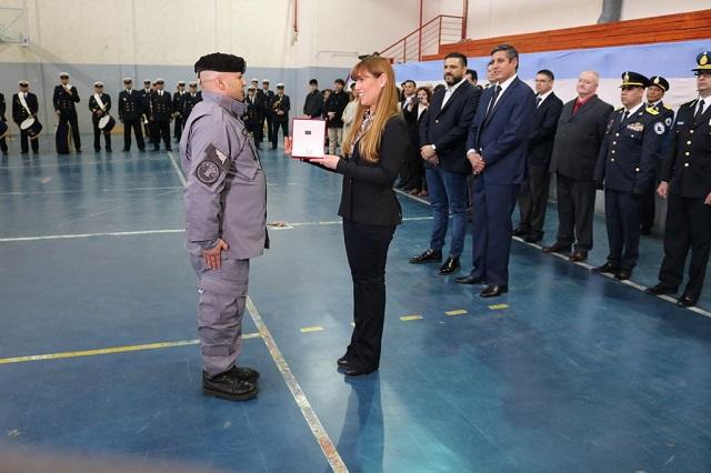 La legisladora Boyadjian destacó labor de personal del Servicio de Penitenciario