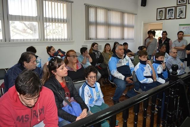 Analizan cesión de espacio verde para la Asociación Atlética Escuela Argentina